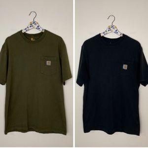 Carhartt original fit crewneck tee shirt bundle M